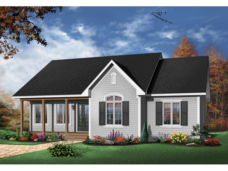 Country House Plan Front Photo 03 - 032D-0106 | House Plans and More