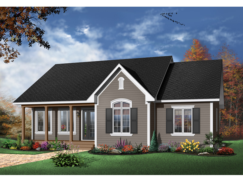 Country House Plan Front Photo 04 - 032D-0106 | House Plans and More
