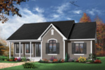 Country House Plan Front Photo 05 - 032D-0106 | House Plans and More