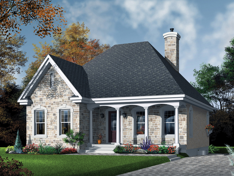 European House Plan Front Photo 01 - 032D-0108 | House Plans and More