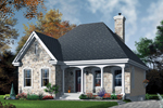 Country House Plan Front Photo 01 - 032D-0108 | House Plans and More