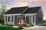Country House Plan Front Photo 03 - 032D-0111 | House Plans and More
