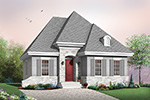 Vacation Home Plan Front Image - 032D-0116 | House Plans and More