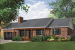 Traditional House Plan Front Photo 01 - 032D-0119 | House Plans and More