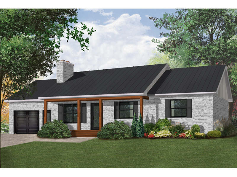 Traditional House Plan Front Photo 02 - 032D-0119 | House Plans and More