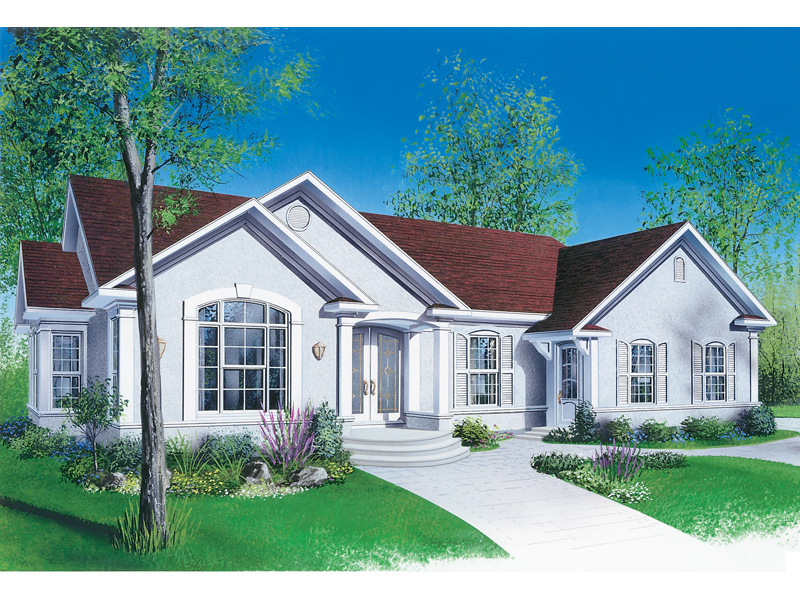 mcintosh ranch multi family house plan - Mcintosh House Plans
