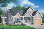 Modern House Plan Front Photo 01 - 032D-0135 | House Plans and More