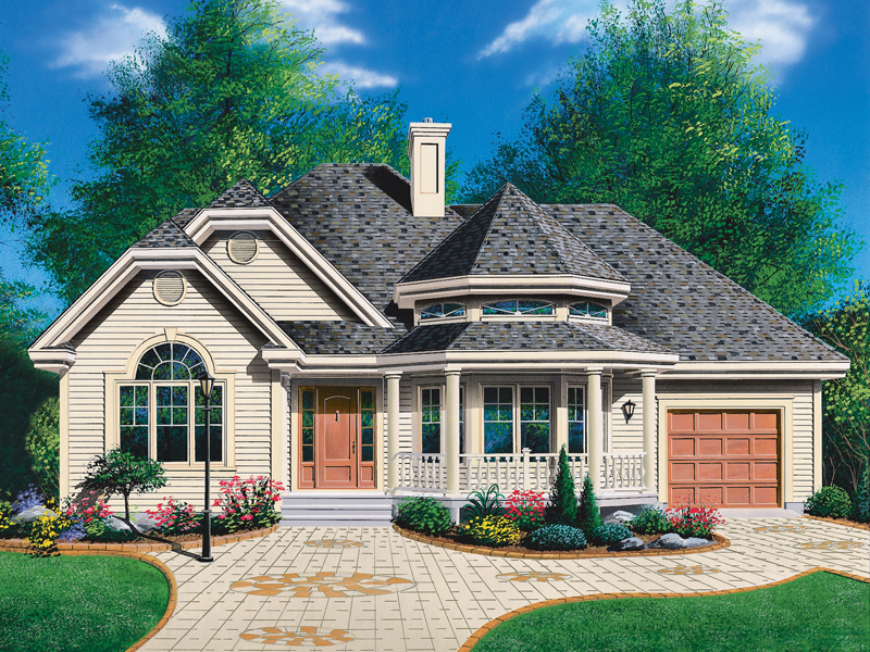Country House Plan Front Photo 01 - 032D-0139 | House Plans and More