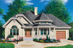 Ranch House Plan Front Photo 01 - 032D-0139 | House Plans and More