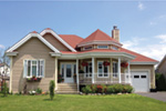 Victorian House Plan Front Photo 02 - 032D-0139 | House Plans and More