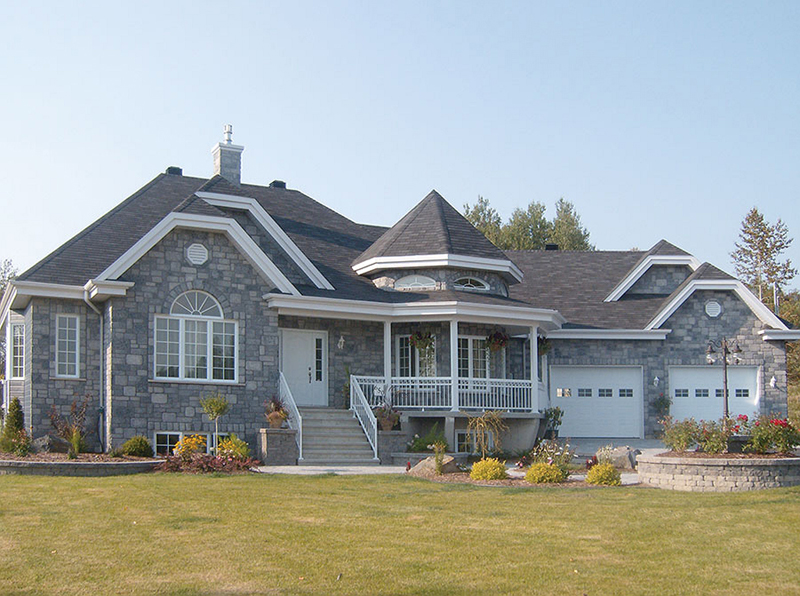 Victorian Ranch Features Beautiful Bay Window And Turret