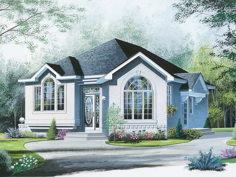 Florida House Plan Front of Home - 032D-0142 | House Plans and More