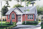 Narrow Lot Home With Great Curb Appeal