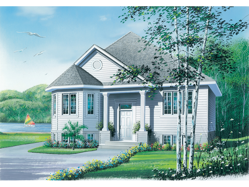 Neoclassical Home Plan Front Photo 01 - 032D-0158 | House Plans and More