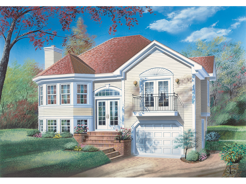 Victorian House Plan Front Image - 032D-0174 | House Plans and More