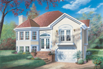 Traditional House Plan Front Image - 032D-0174 | House Plans and More