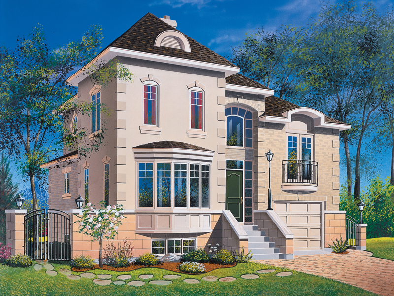 Two-Story Home Has Amazing Ornate Detail
