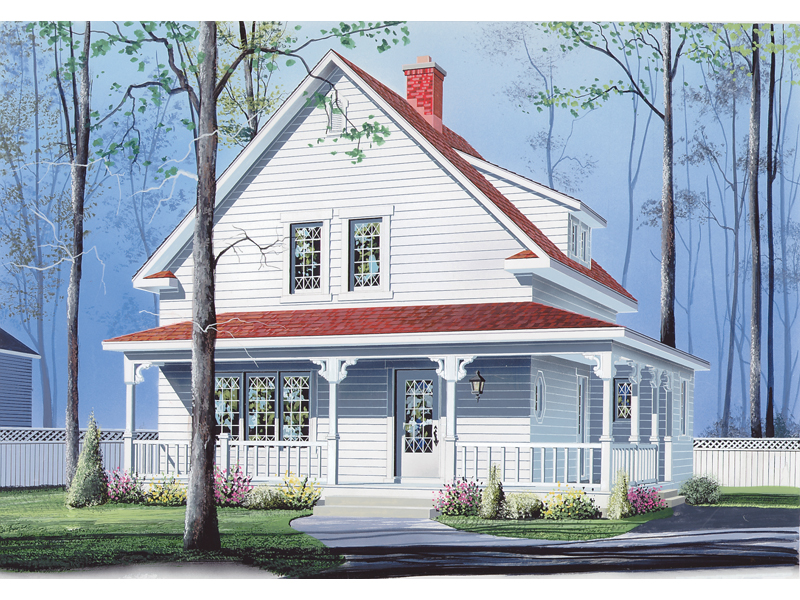 Front of Home - 032D-0195 | House Plans and More
