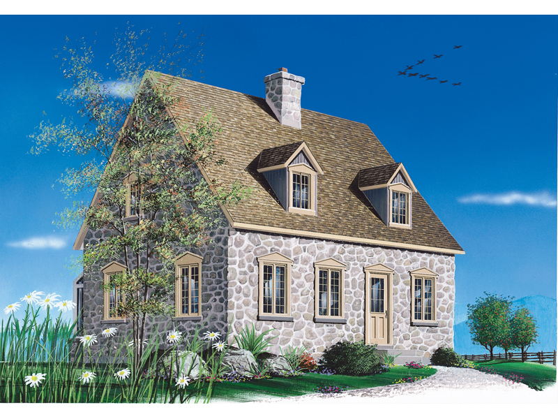 Haworth vacation cottage home plan 032d 0198 house plans for Summer cottage house plans