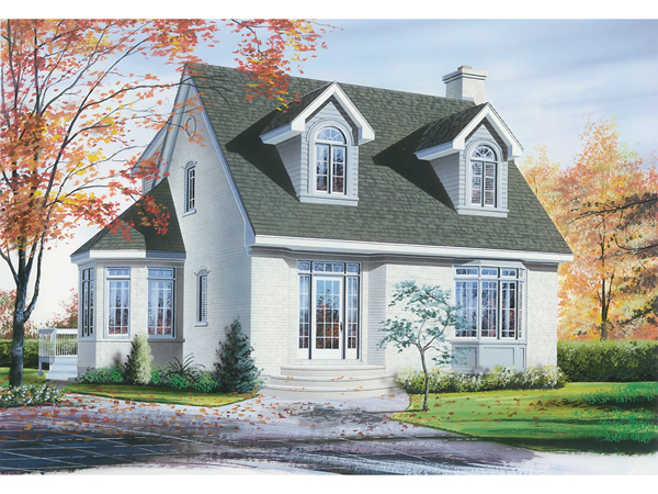 Hempstead new england home plan 032d 0201 house plans for Home in new england