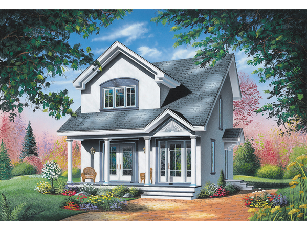 Kipling woods saltbox home plan 032d 0209 house plans for Saltbox house plans with porch