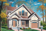 Tudor House Plan Front Photo 01 - 032D-0210 | House Plans and More