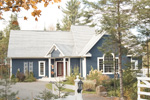 Cabin and Cottage Plan Front Photo 01 - 032D-0211 | House Plans and More
