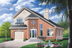 Traditional House Plan Front Photo 01 - 032D-0213 | House Plans and More