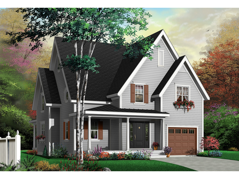 Front Photo 01 - 032D-0224 | House Plans and More