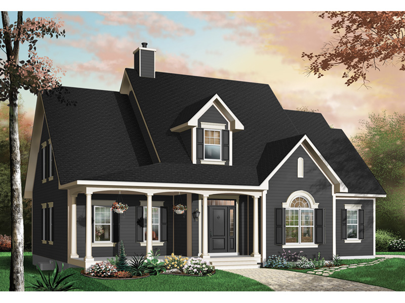 Neoclassical Home Plan Front Photo 01 - 032D-0227 | House Plans and More
