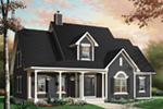 Bungalow House Plan Front Photo 01 - 032D-0227 | House Plans and More