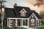 Neoclassical Home Plan Front Photo 03 - 032D-0227 | House Plans and More