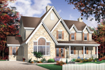 Traditional House Plan Front Photo 02 - 032D-0228 | House Plans and More