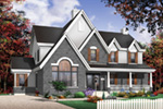 European House Plan Front Photo 03 - 032D-0228 | House Plans and More