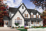 European House Plan Front Photo 04 - 032D-0228 | House Plans and More