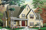 Southern House Plan Front Photo 02 - 032D-0229 | House Plans and More