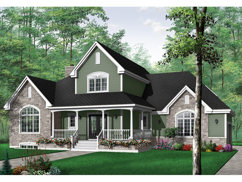 Southern House Plan Front Photo 02 - 032D-0231 | House Plans and More