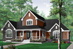 Southern House Plan Front Photo 03 - 032D-0231 | House Plans and More