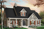 Bungalow House Plan Front Photo 01 - 032D-0232 | House Plans and More