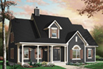Bungalow House Plan Front Photo 02 - 032D-0232 | House Plans and More
