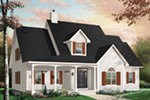 Bungalow House Plan Front Photo 03 - 032D-0232 | House Plans and More