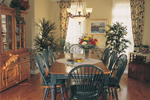 Neoclassical Home Plan Dining Room Photo 01 - 032D-0234 | House Plans and More