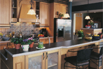 Southern House Plan Kitchen Photo 02 - 032D-0234 | House Plans and More