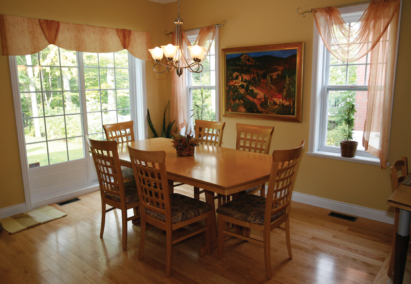 European House Plan Dining Room Photo 01 032D-0235