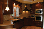 European House Plan Kitchen Photo 03 - 032D-0235 | House Plans and More