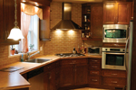 Traditional House Plan Kitchen Photo 04 - 032D-0235 | House Plans and More