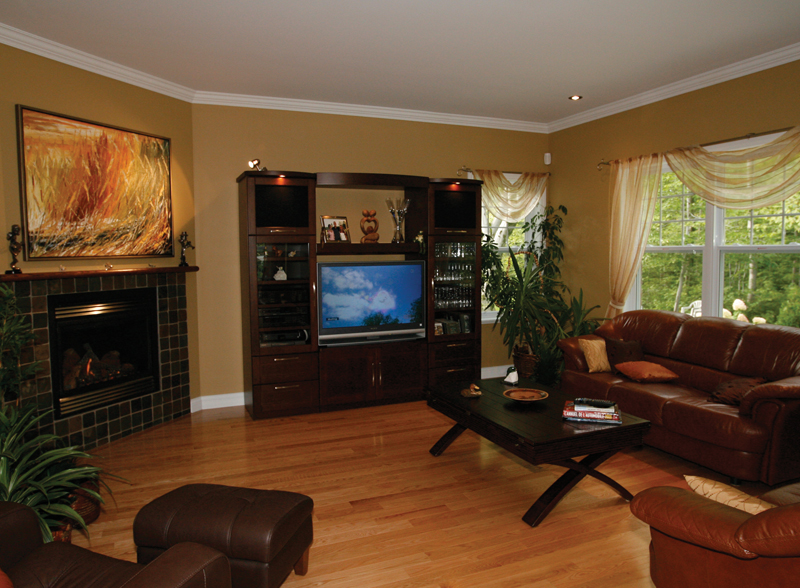 European House Plan Living Room Photo 01 032D-0235