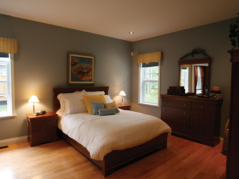 European House Plan Master Bedroom Photo 01 032D-0235