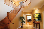 European House Plan Stairs Photo 02 - 032D-0235 | House Plans and More
