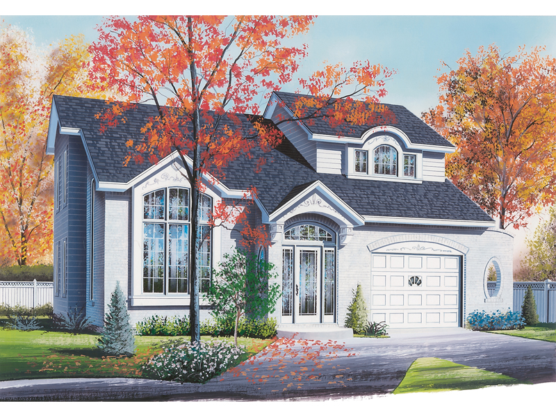Narrow Lot Design Offers Gorgeous Curb Appeal